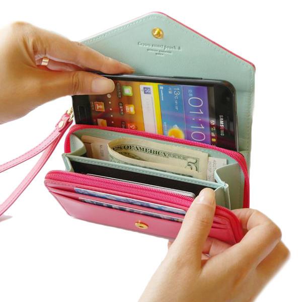 Корону молния короткий бумажник держатель кожаные сумки клатчи карты монета мешки аргументы за телефона Iphone Samsung