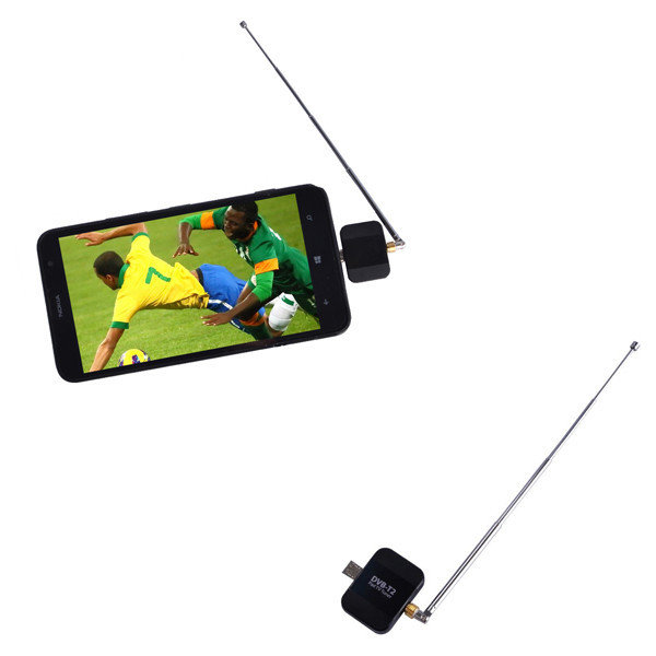 D202 Pad TV Tuner DVB-T DVB-T2 Digital TV Receiver for Android Phone Tablet PC