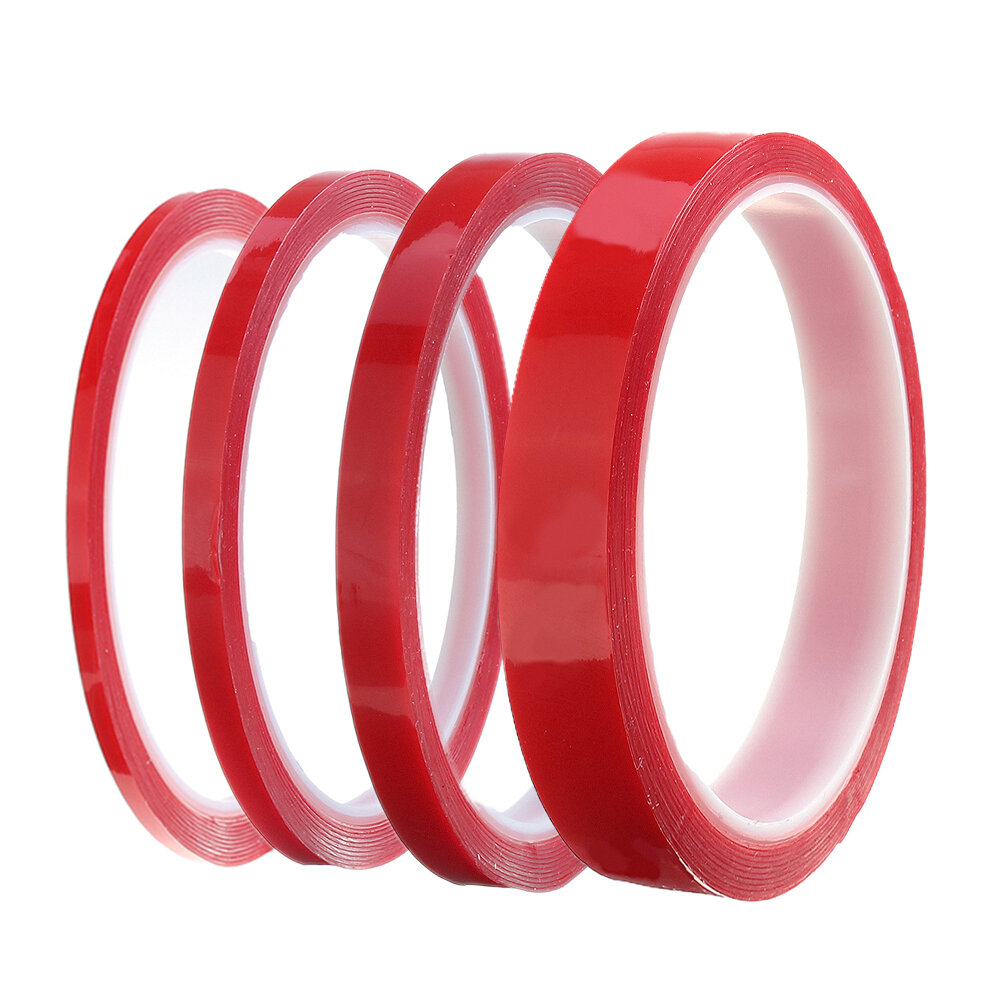 3M Double Sided Adhesive Tape Acrylic Transparent No Traces Sticker for LED  Strip Car Fixed Phone Tablet Fixed