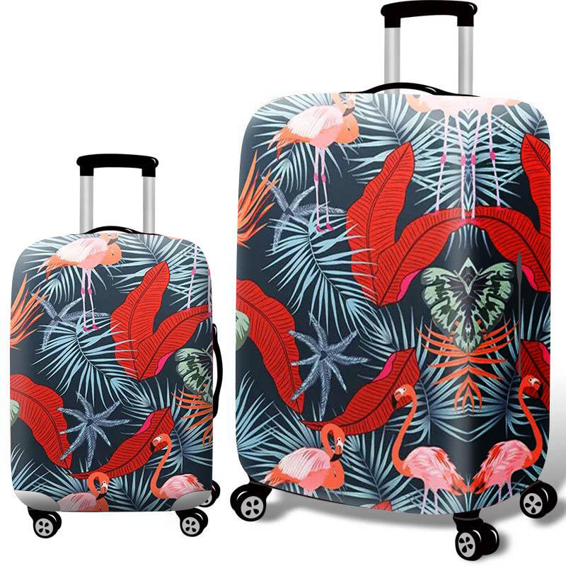 22-32 Inch Luggage Cover Travel Camping Suitcase Protective Elastic Dust-Proof Trolley Cover