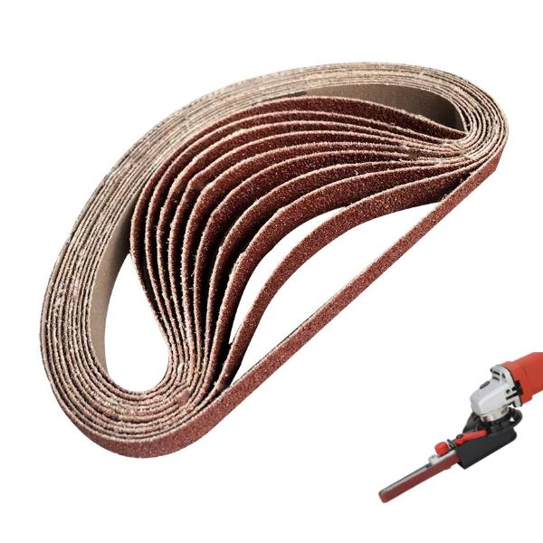 Abrasive Tool 60-600 Grits Sandpaper Sanding Belts Abrasive Bands For Sander Power Rotary Tools Dremel Accessories Tools