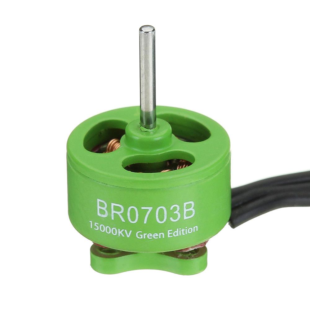 Racerstar 0703 BR0703B Green Edition 20000KV 15000KV Brushless Motor For FPV Racing RC Drone