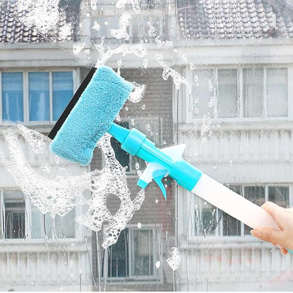 Honana HN-Q19 Magic Sprey Çok Fonksiyonlu Temizlik Fırça Windows Fayans Evde Temizlik Aletler