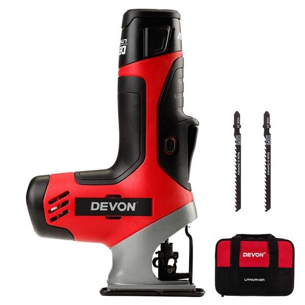 DEVON®5804-Li-12ミニ電気カーブソーイング木工往復鋸(LED付)
