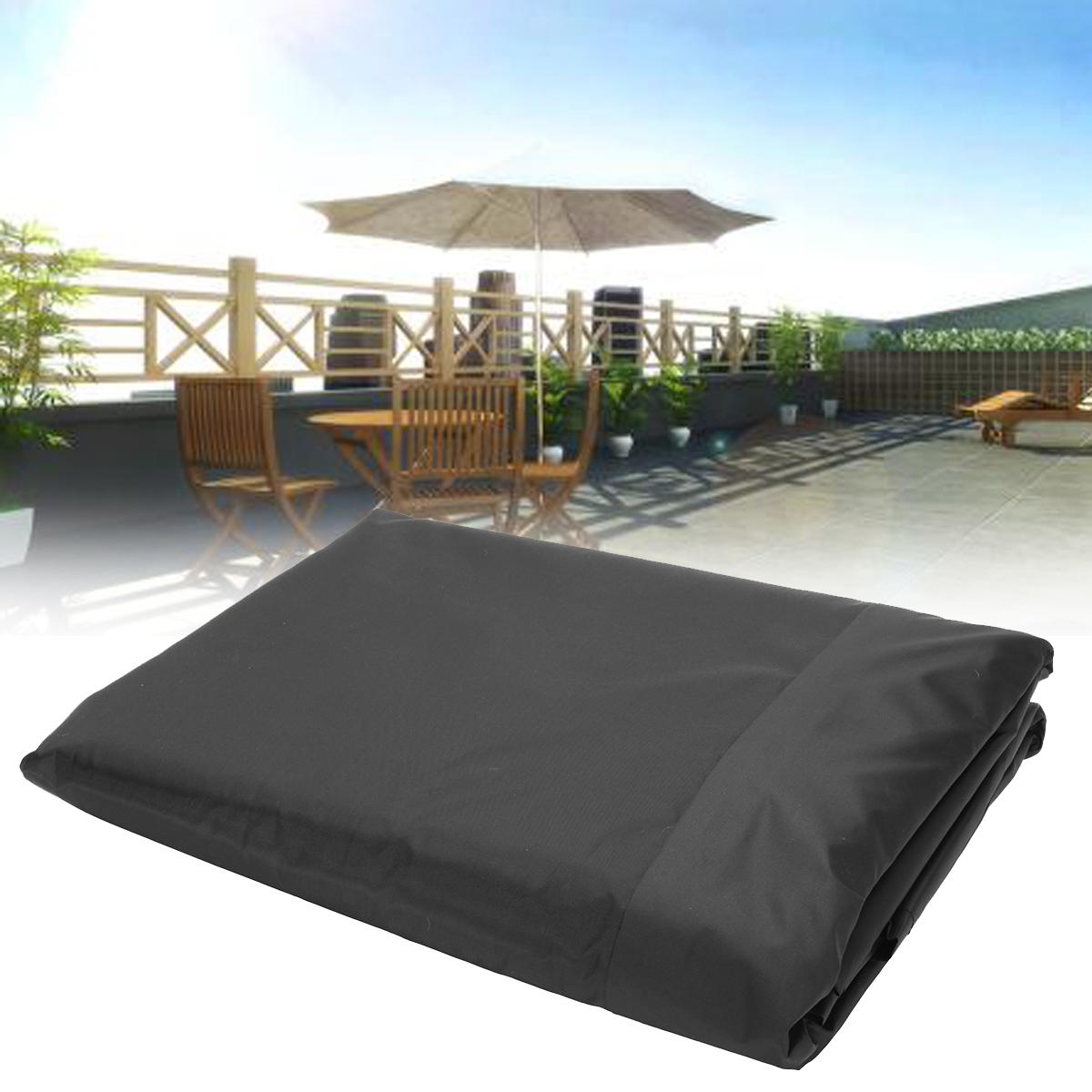 236 2x275 6inch Polyester Shelter Outdoor Waterproof Shade Sail Sun