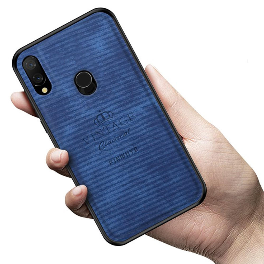 MOFI PINWUYO Shockproof PU Leather Soft TPU Back Cover Protective Case for Xiaomi Redmi Note 7 / Note 7 Pro