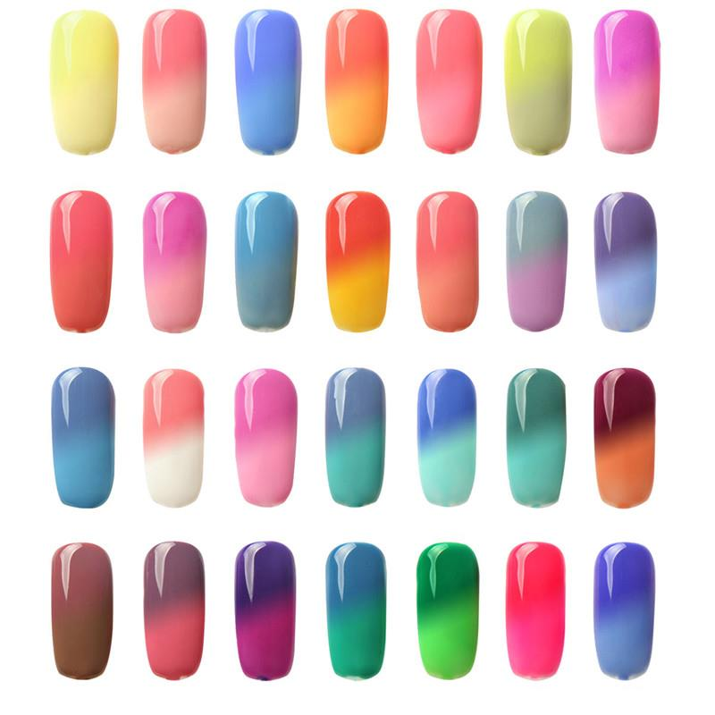 Focallure Temperature Color Change Uv Gel Polish Nail Art Varnish