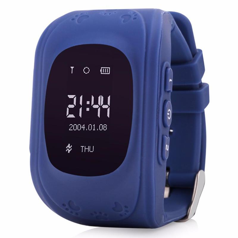 Q50スマートセーフキッドウォッチ腕時計SOSコールロケーションGSM GPRSロケータトラッカーアンチロストキッズGPSウォッチfor iOS Android