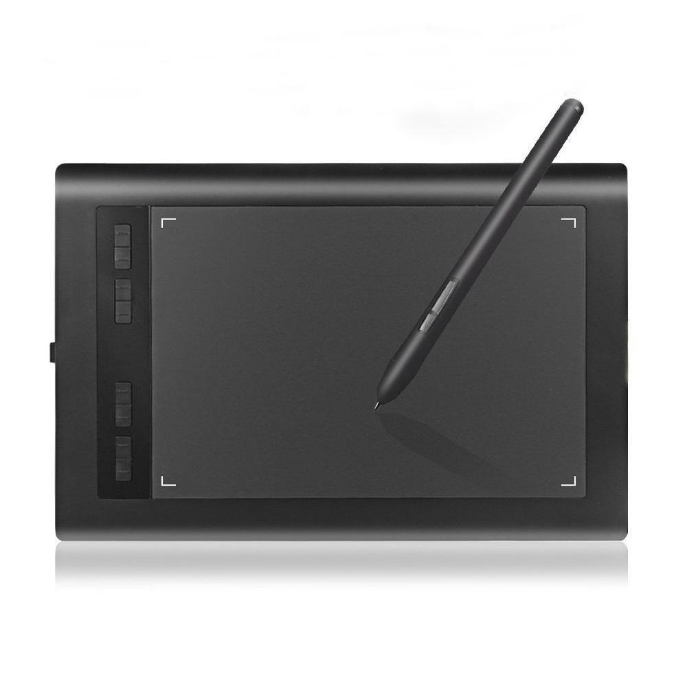 Tablette à dessin graphique Acepen AP1060 10 * 6 pouces avec tablette à dessin professionnelle au stylo numérique