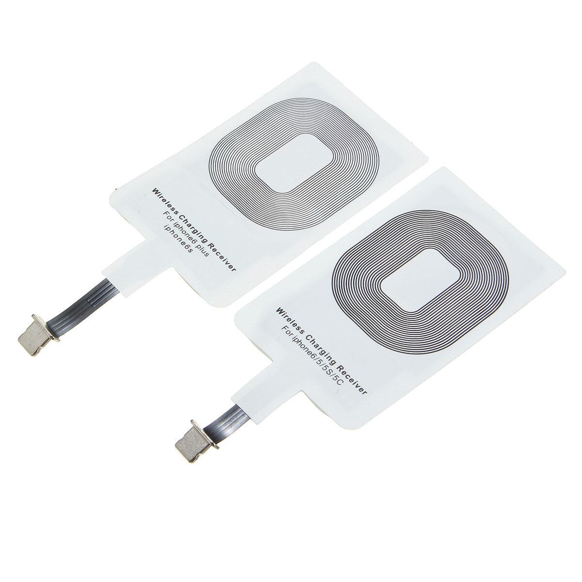 Qi Зарядное устройство для беспроводного зарядного устройства Приемник Коврик для зарядного устройства для Iphone 5S 5C 6 6plus