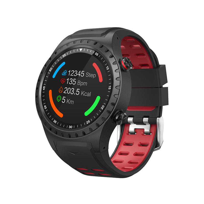 XANES M1 1.3'' LCD Color Screen IP67 Waterproof Smart Watch GSM Outdoor GPS Altitude Blood Pressure Heart Rate Monitor Fitness Sports Bracelet