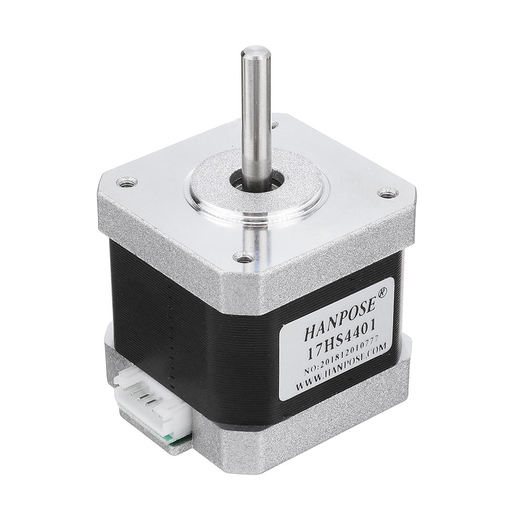 HANPOSE 17HS4401 40mm Nema 17 Stepper Motor 42 Motor 42BYGH 17A 40Ncm 4lead For CNC 3D printer