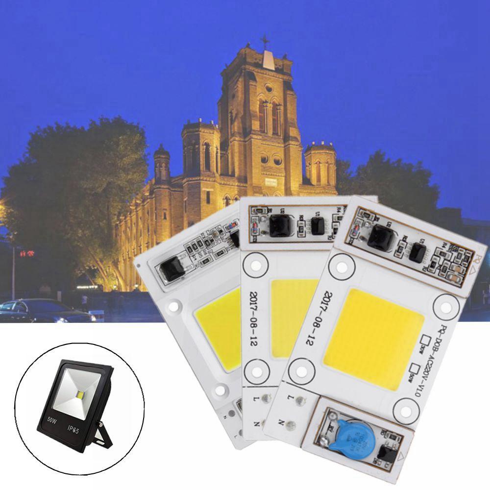 LUSTREON 50W drijfbescherming zonder drift COB LED-chip voor DIY Flood Light Spotlight AC180-300V
