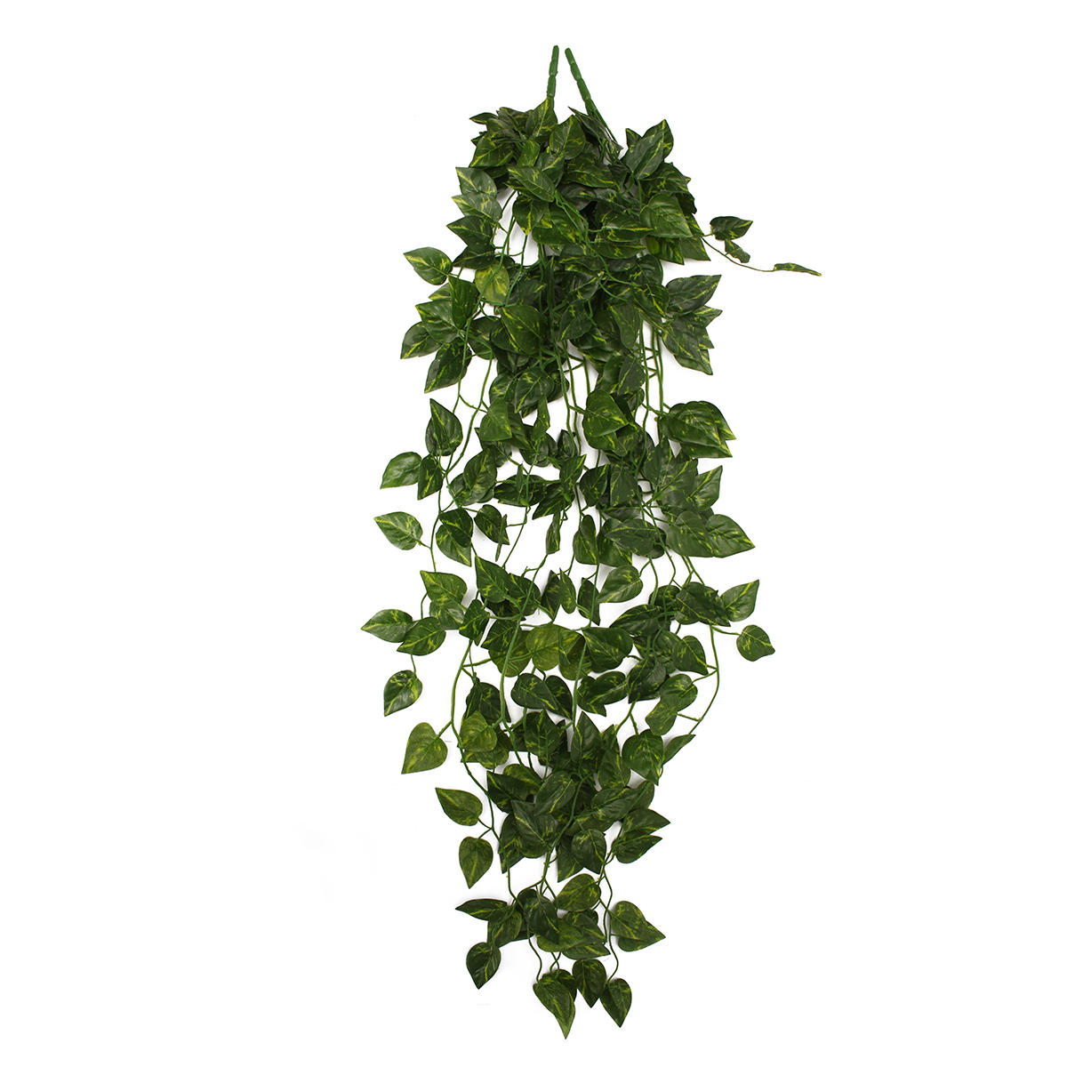 2 Bunch 4ft Artificial Silk Scindapsus Ivy Leaf Garland Plant Vine Foliage Garden Home Decorations COD