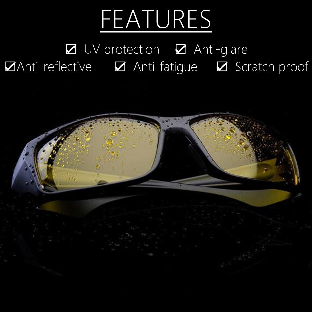 4bd524d5a5 suleve™ g01 unisex night driving glasses anti glare night vision ...