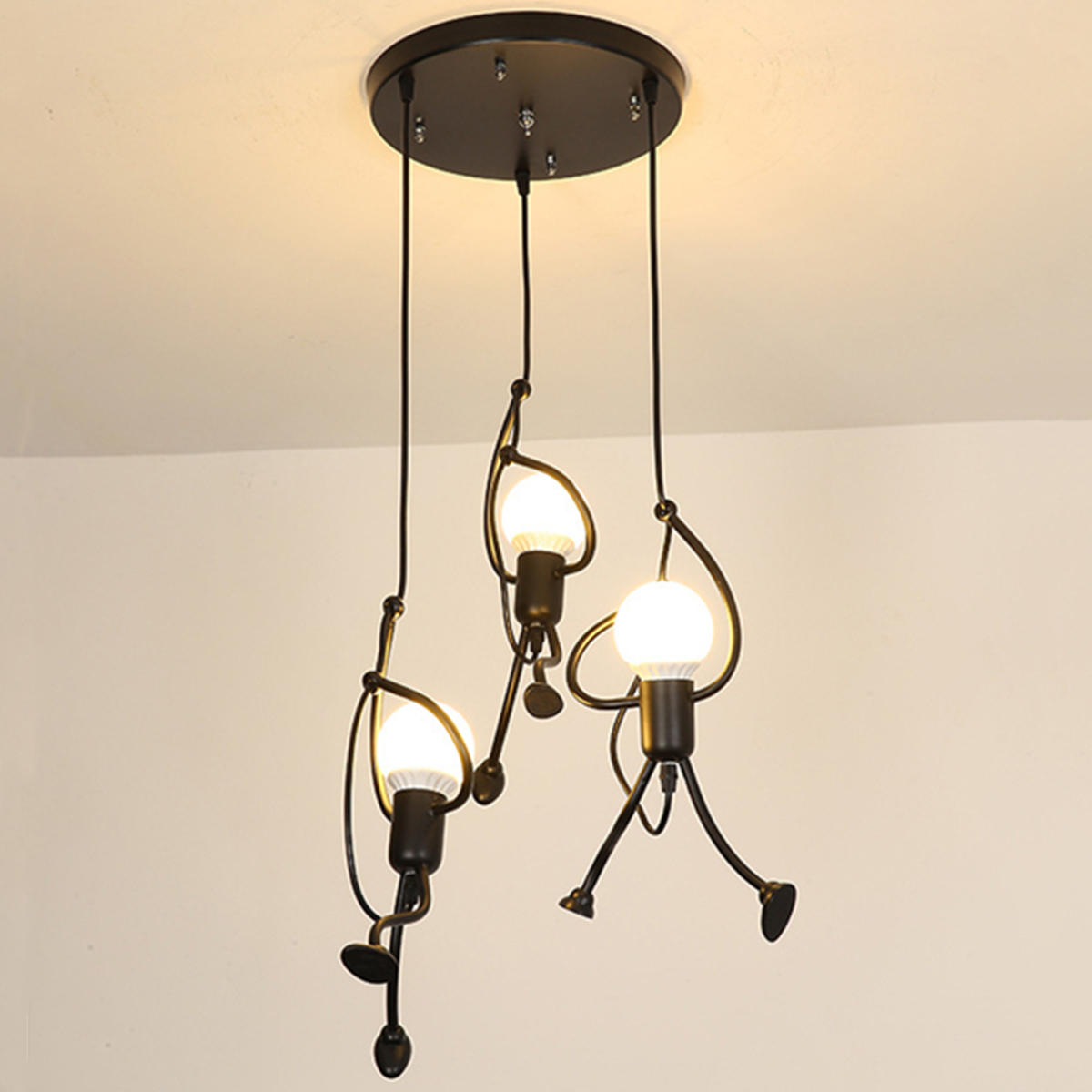 Modern Novelty Chandelier Lights Restaurant Bar Lamp Living Room Coffee Shop Glass Hanging Light Fixtures Carefully Selected Materials Ceiling Lights & Fans