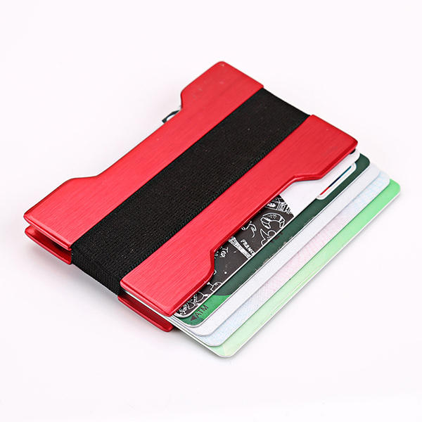 Aluminium Alloy Business Card Holder Metal Credit Cards Protector Anti Thief Slim Wallets