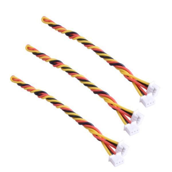 Câble silicone 2PCS 3 pin FPV 15cm pour caméra RunCam FPV