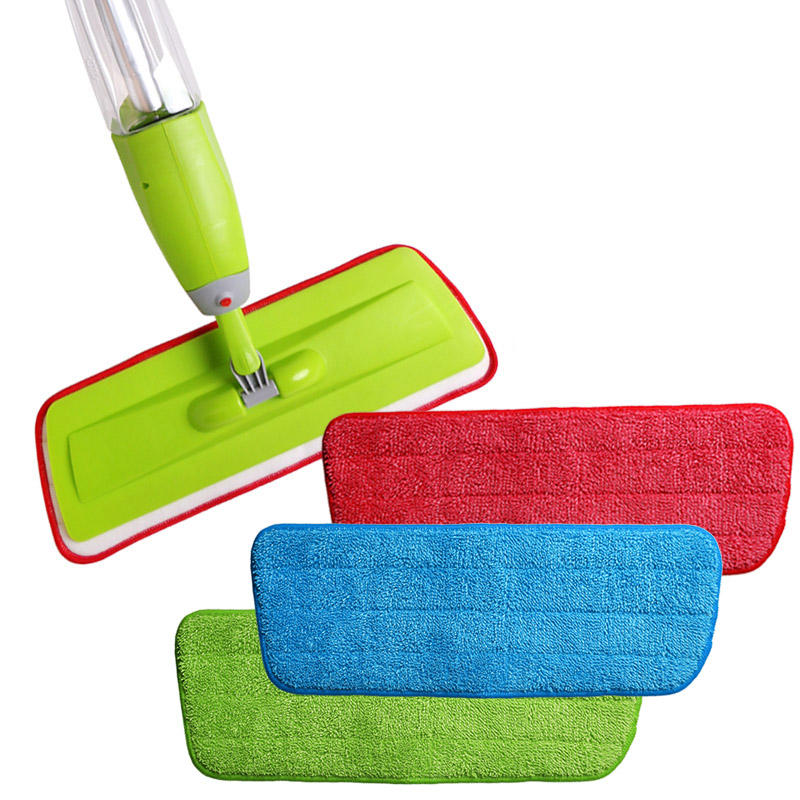 Microfiber Spray Mop Replacement Head Pads Floor Cleaning