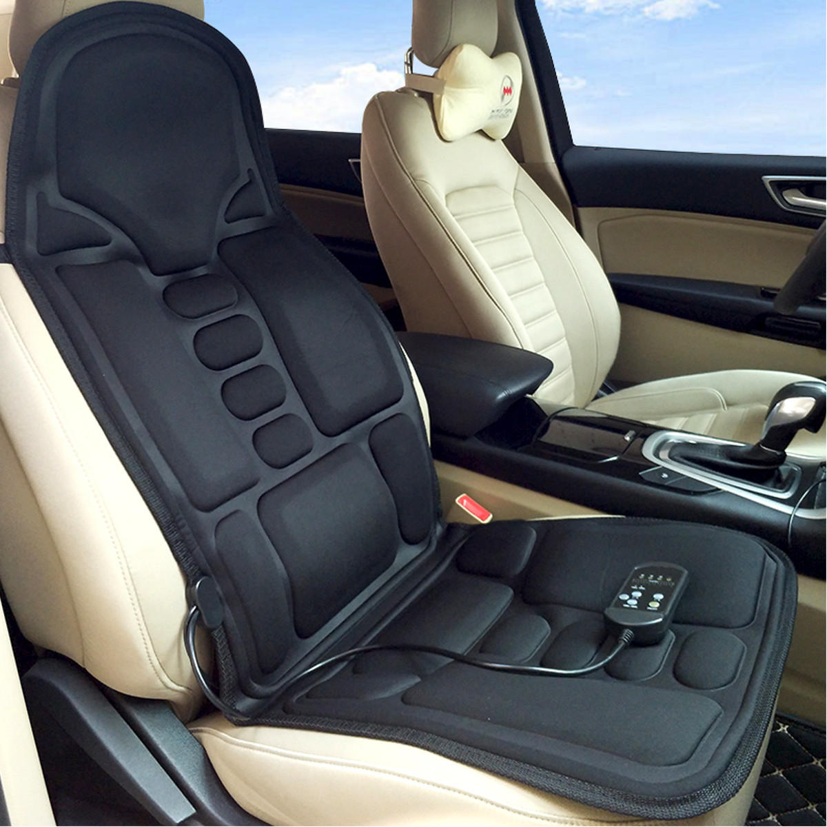 Car Massage Cushion Car Home Full Body Cervical Massager Massage Car Seat Cushion
