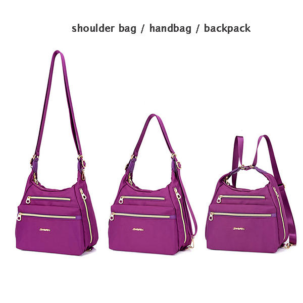 Other Warehouse. Send me purchase update on Messenger. Women Nylon  Waterproof Double-sided Crossbody Bag ... 2060e87665