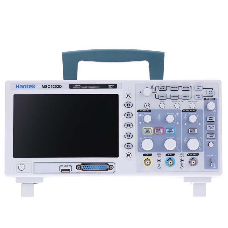 Hantek MSO5202D 2 in 1 Digital Oscilloscope 200MHz 2 Channels 1GSa/s + 16 Channels Logic Analyzer