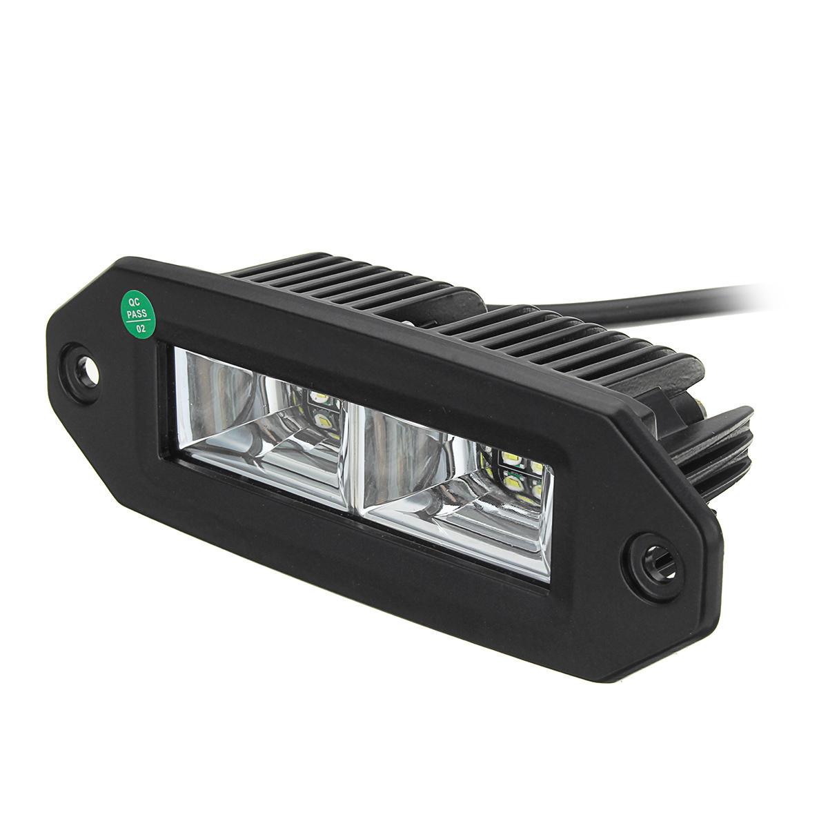 1 pcs 40 W IP67 6000 K blanc encastré LED inondation travail lumière pour Jeep tout-terrain SUV ATV ramassage
