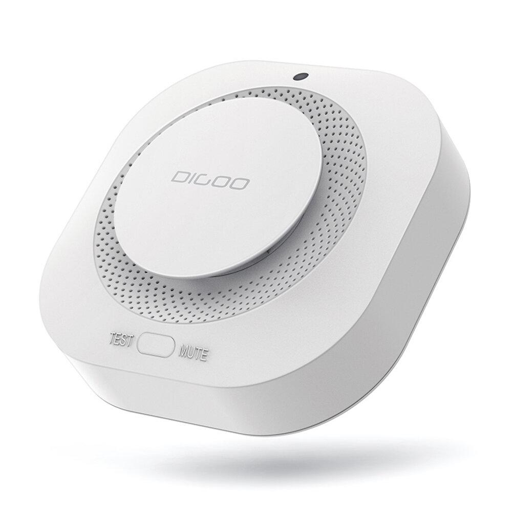 CES NEW DIGOO DG-SA01 Markemeldesuchgerät Unabhängiger photoelektrischer Rauchmelder Fernalarm mit HOSA HAMA