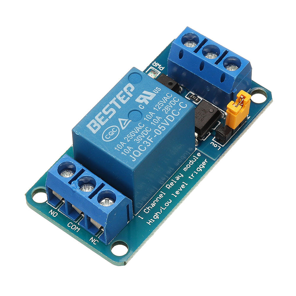 BESTEP 1 Channel 5v Relay Module High And Low Level Trigger For Arduino COD