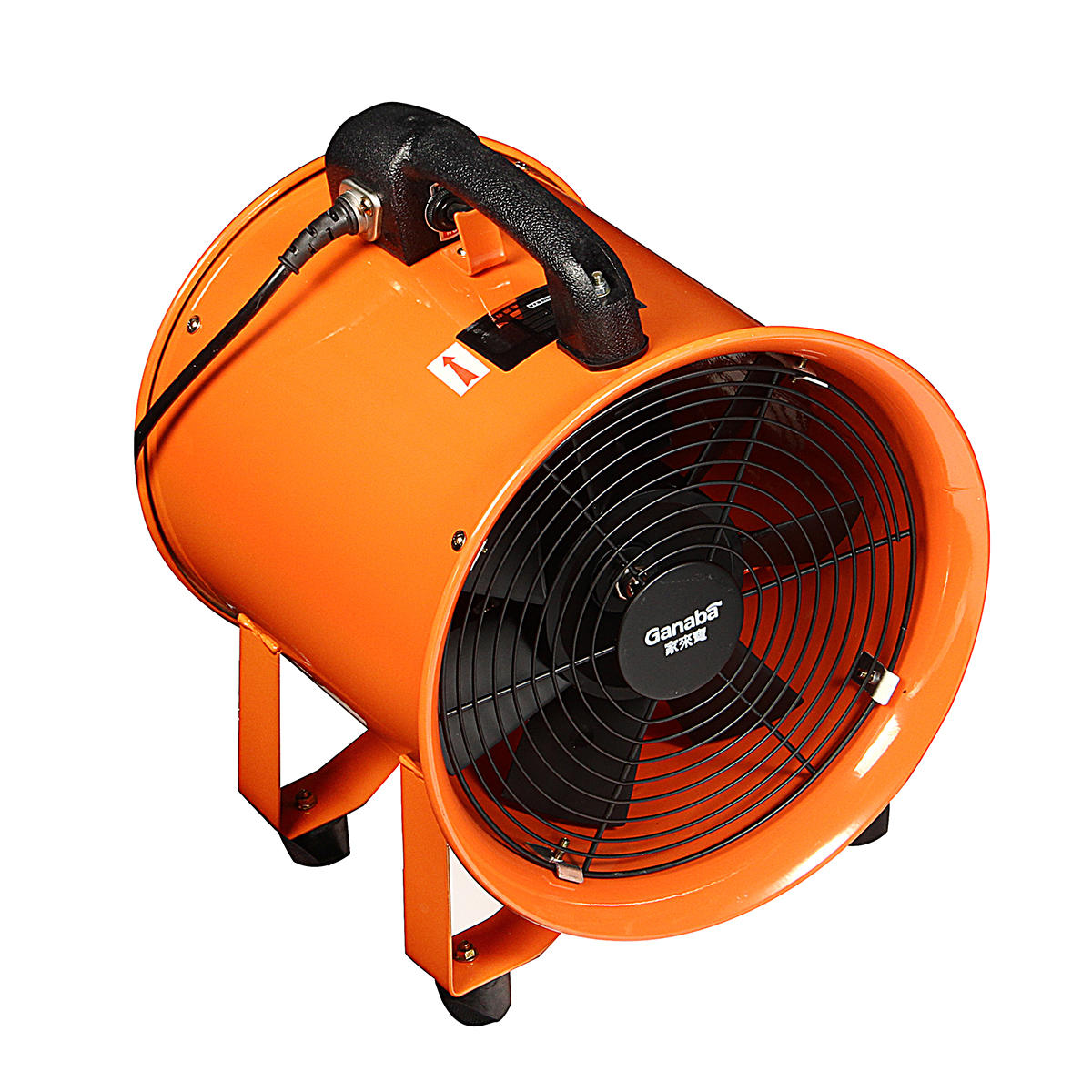 Industrial Portable Blower Fan : Portable ventilator axial ducting blower industrial