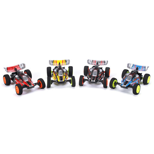 4pcs Velocis 1/32 2.4G RC Racing Car Multilayer in Parallel Operate USB Charging Edition Indoor Toy
