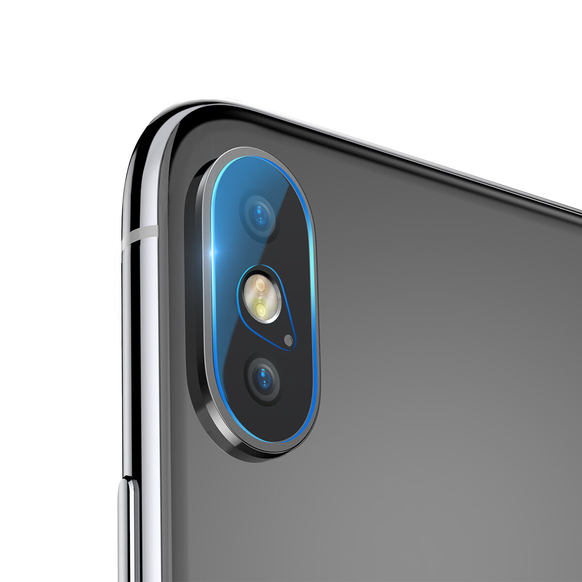 """Baseus 0.2mm Clear Scratch Resistant Rear Camera Lens Tempered Glass Protector For iPhone XS Max 6.5"""" 2018"""