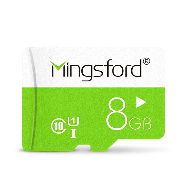 Mingsford Colorful Edition 8 Go Class 10 TF Carte mémoire