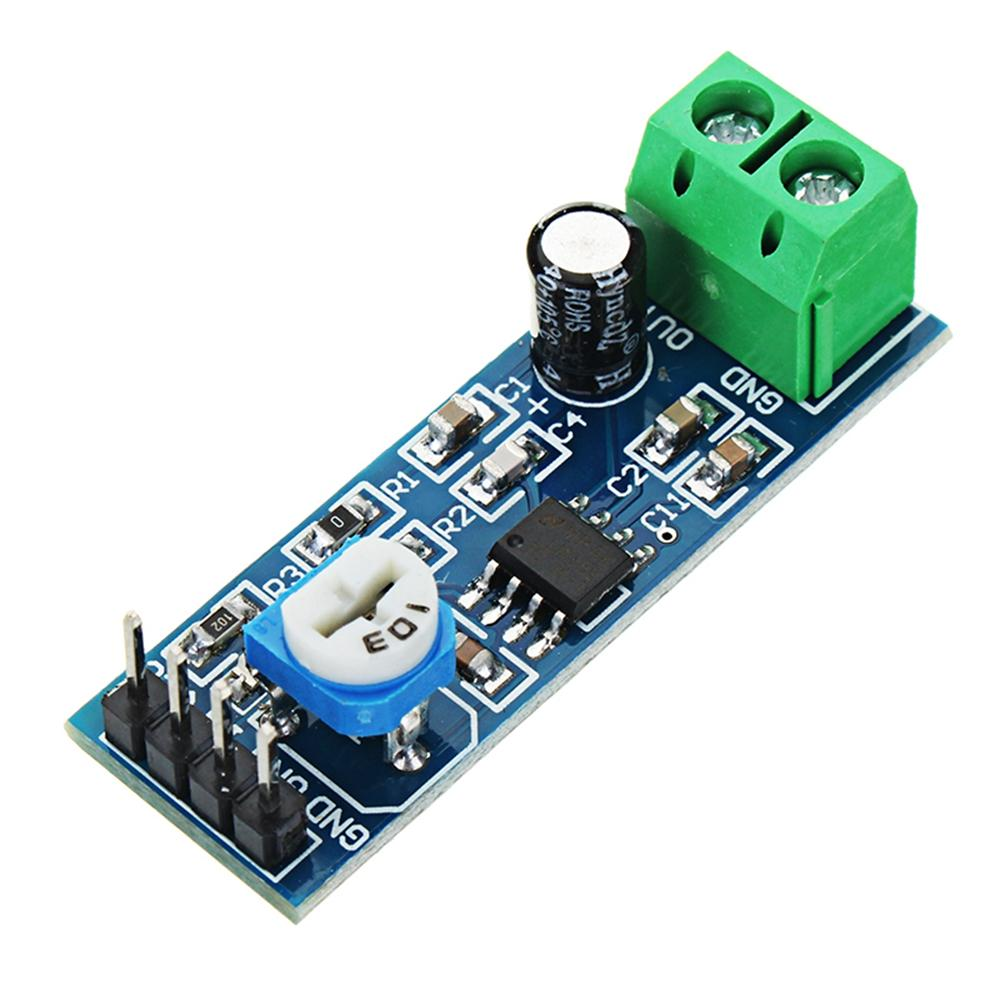 Image result for lm386 audio amplifier module arduino