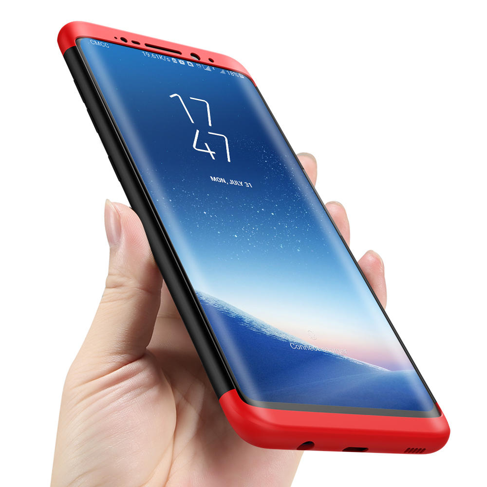 Bakeey™ 3 in 1 Double Dip 360° Hard PC Full Protective Case for Samsung Galaxy S8 5.8'