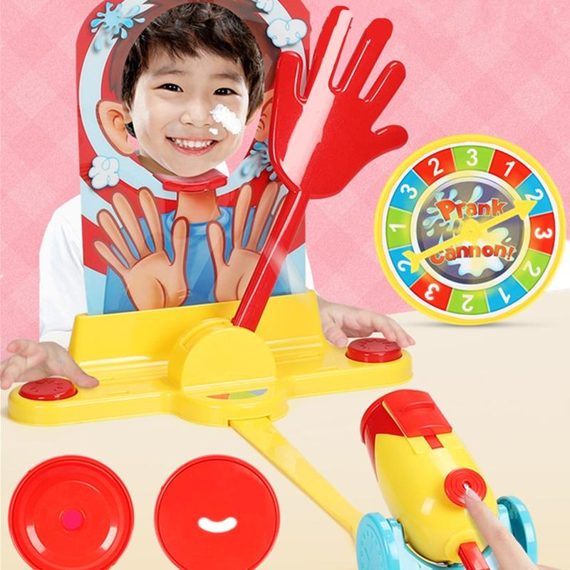 Water Cream Hit Face Trick Educational Blocks Novelties Puzzle Birthday Party Game Toys