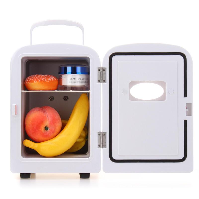 Refrigerador portátil Coche del calentador más fresco de la vaca de la leche roja 45W 4L mini