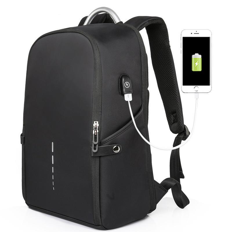 8af17b26935 30L USB Backpack Anti-thief Shoulder Bag 14 Inch Laptop Bag Camping  Waterproof Travel Bag School Bag - Blue COD
