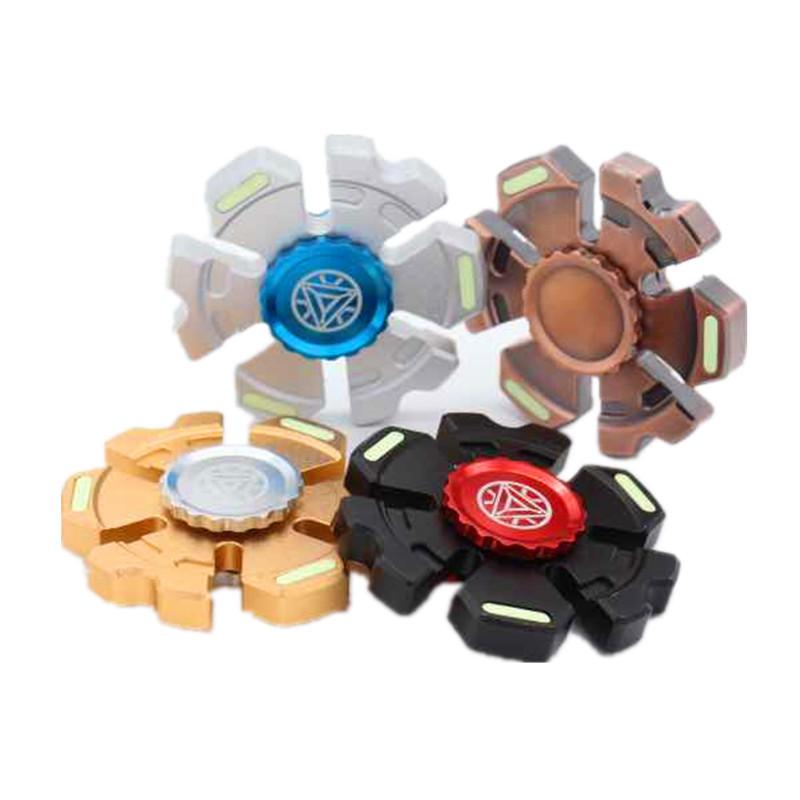 Fidget Hand Spinner Dérivés en plastique Gyro réduire les jouets de stress