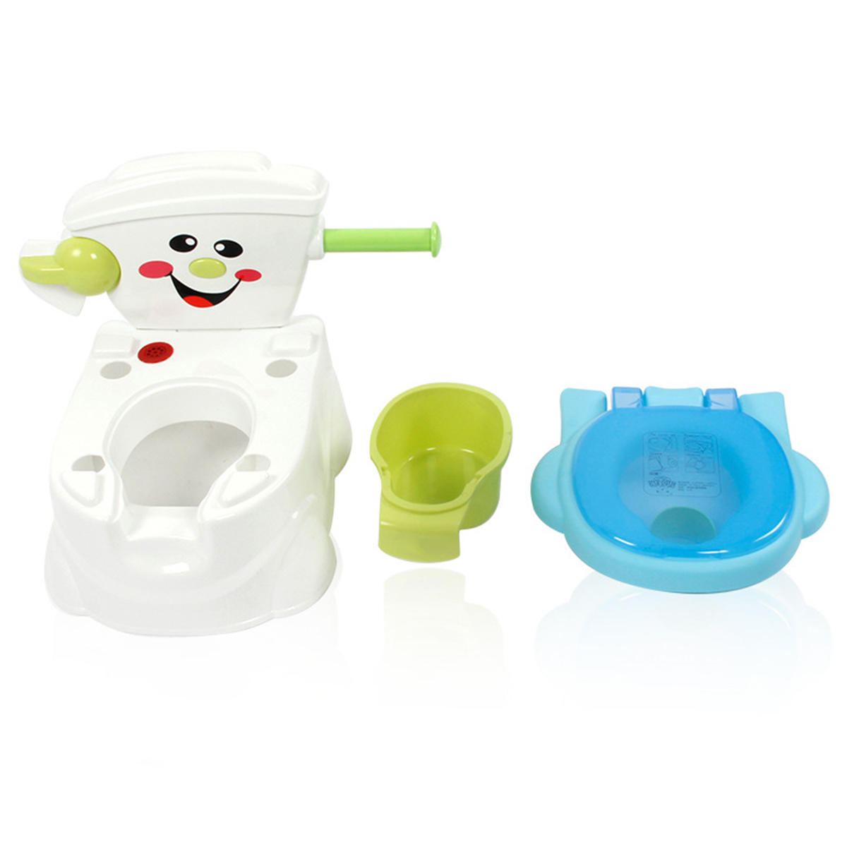 Baby Toilet Trainer Toddler Kid Potties Training Seat Smile Face Chair Baby Toilet Seat