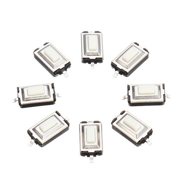 100pcs 3 x 6 x 2.5mm DC 12 V 0.5A SMD Tact bouton-poussoir