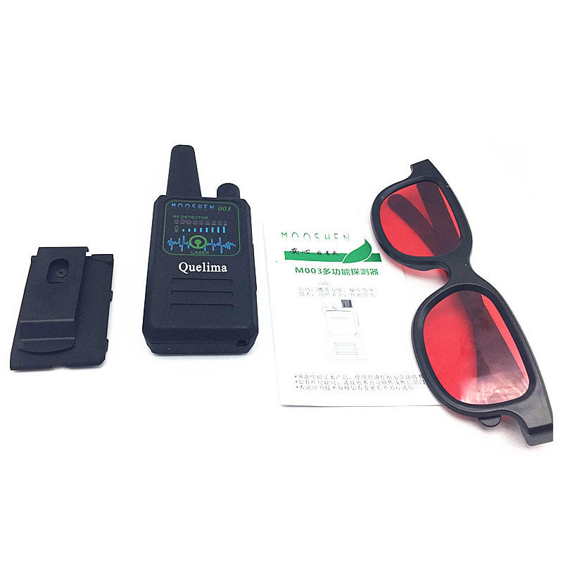 Quelima M003 5MHz to 8000MHz Handheld Wireless Multi Function Signal Anti Monitor Tracking Detector