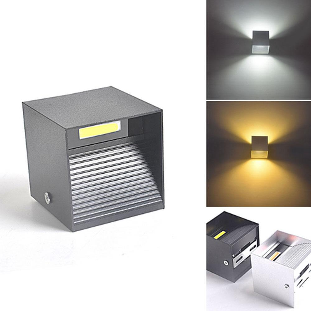 Led Lamps Lights & Lighting Led Wall Light Modern 9w 12w Cob Led Up Down Wall Lamp Non-waterproof For Indoor Aisle Living Room Ac85-265v