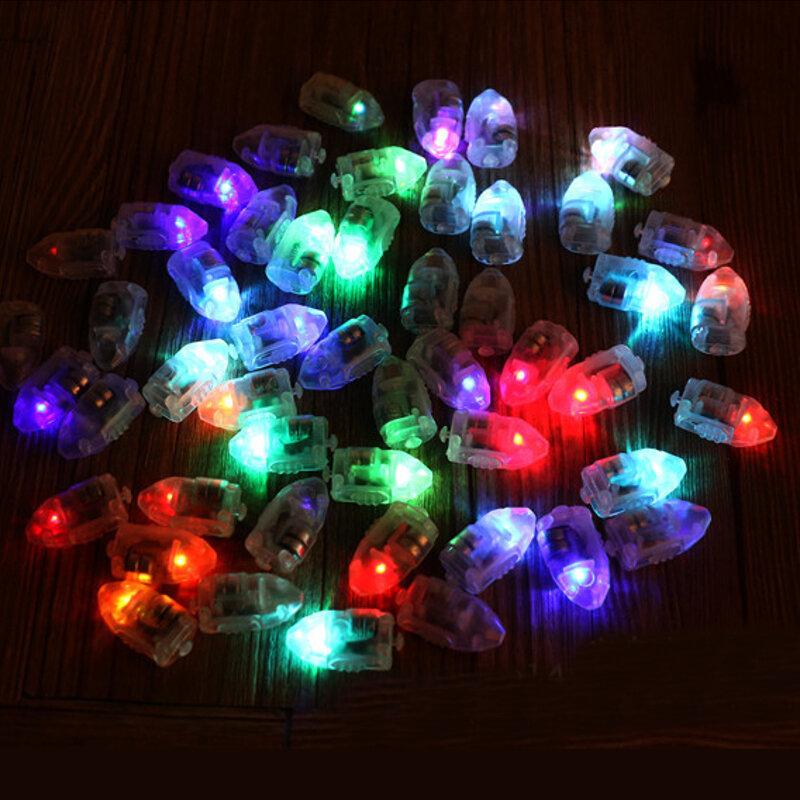 종이 랜턴 풍선 여러 가지 빛깔의 크리스마스 파티 장식에 대 한 50pcs / lot LED 램프 풍선 조명