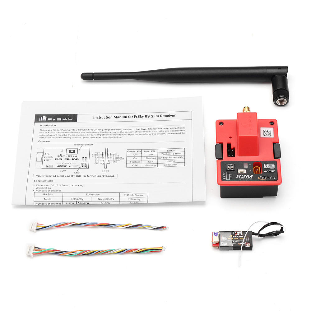 FrSky R9M 900MHz Long Range Transmitter Module With R9 Slim 6 16CH Telemetry Receiver