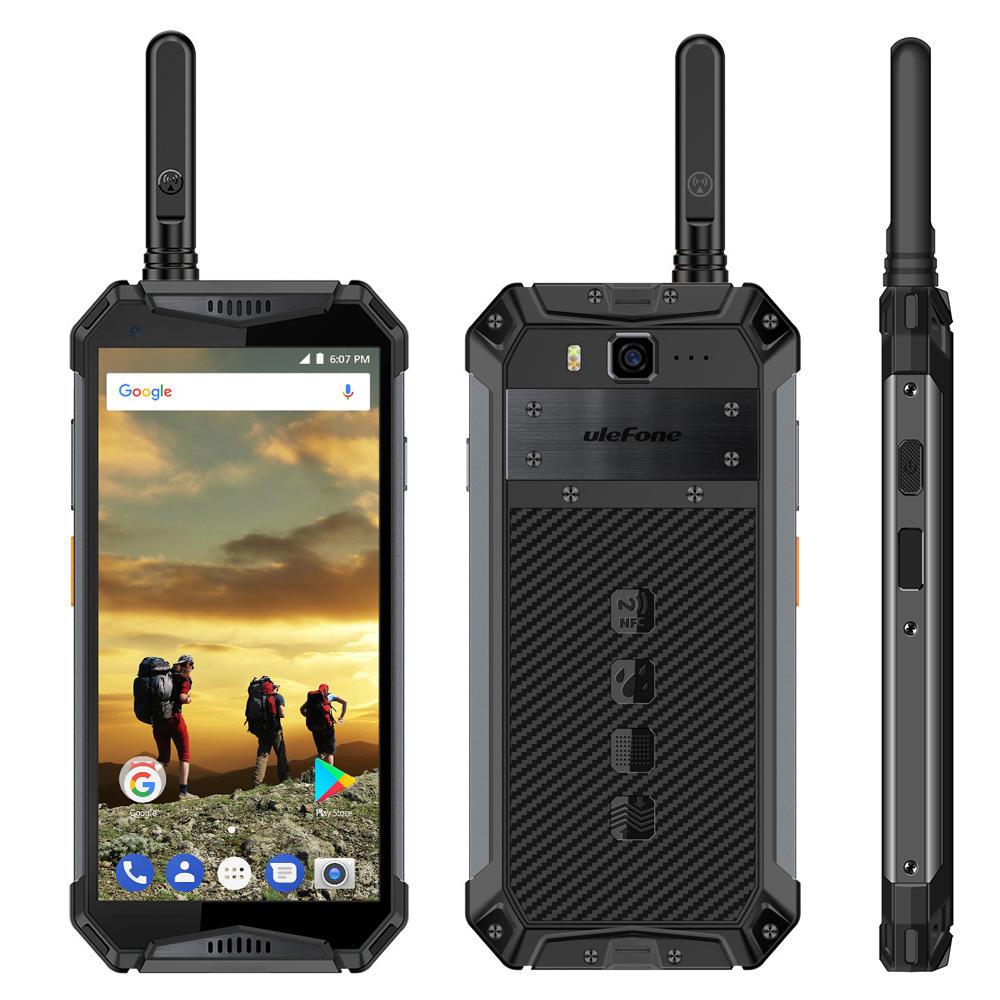 Ulefone Armor 3T 5.7 Inch Walkie Talkie NFC IP68 IP69K 4GB 64GB Helio P23 Octa core 4G Smartphone