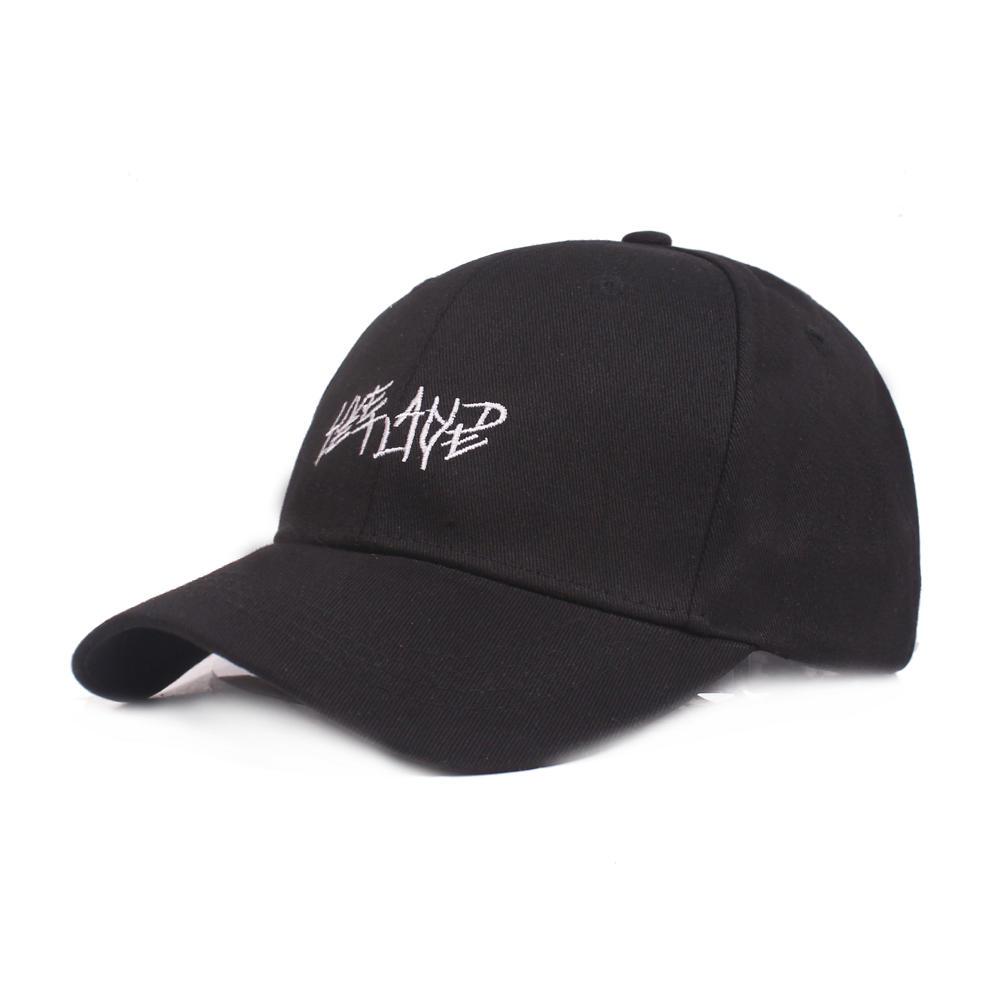 Män Kvinnors Sommar Utomhus Broderi Baseball Keps Justerbar Bred Brim Visor Hat