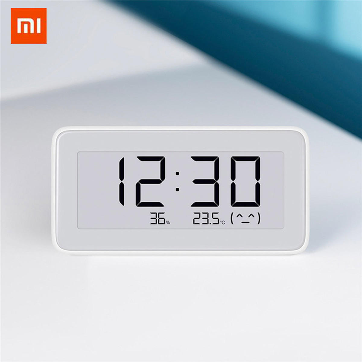 Xiaomi Mijia Digital Clock E-INK Screen Temperature Humidity Sensor Thermometer