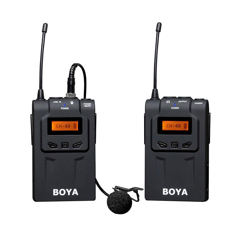 Boya By Wm6 Ultra High Frequency Uhf Wireless Lavalier Microphone