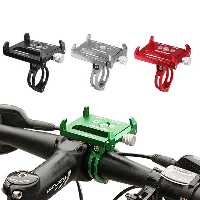 GUB G85 AL6063 Soporte de Teléfono de la Bicicleta del CNC para Dispositivo de GPS hasta Teléfono de 6.2 Pulgadas Antideslizante